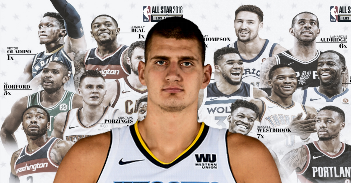 nikola jokic all star 2019